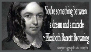 Elizabeth Barrett Browning Love Quotes