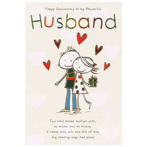 Anniversary Card Sayings For Husband