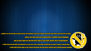 Zero Punctuation Quotes Wikiquote ~ Zero Punctuation Blue -quoted- by ...