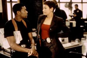 RUSH HOUR, Chris Tucker, Elizabeth Pena, 1998, (c)New Line Cinema