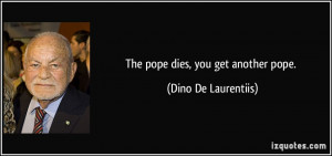 Quotes From the Pope