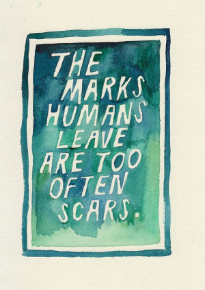 john green, quote, scars, the fault in our stars