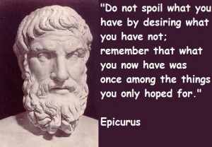 What Makes Us Happy? A Philosopher, Epicurus, Had Some Ideas…