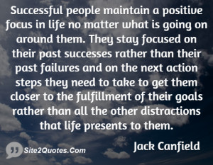 Positive Quotes - Jack Canfield