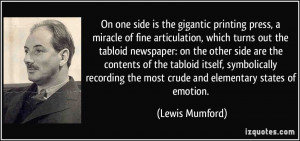 tabloid newspaper: on the other side are the contents of the tabloid ...