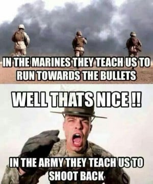 Marines Vs. Army - Military humor