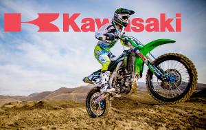 Kawasaki Dirt Bike Logo