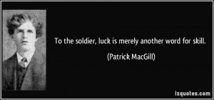 More Patrick MacGill Quotes
