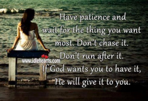 God #patience #waiting