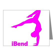 Gymnastics Sayings Thank You Cards & Note Cards