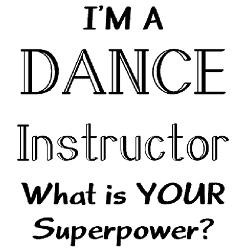 dance instructor Jr. Jersey T-Shirt for
