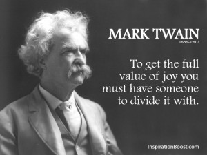 Mark Twain Happiness Quotes