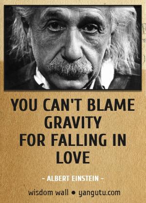 gravity einstein quotes quotesgram