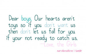 quotes. sayings. truth. dear boys..