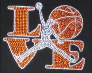 Basketball T Shirt Designs For Girls Love basketball t-shirts