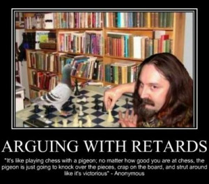 Arguing with retards | Funny Pictures, Quotes, Pics, Photos, Images ...