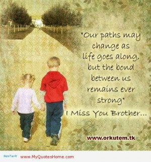 Brother Sister Bond Quotes