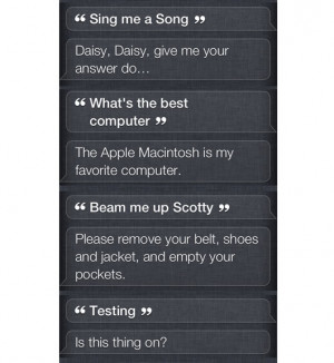 The best commands, questions and quotes to ask Siri the new iPhone 4s ...