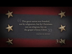 Preview for PATRIOTIC COUNTDOWN WITH FOUNDERS QUOTES