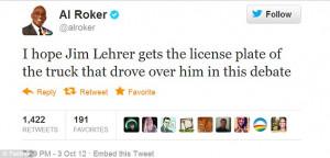 Oct 04 Silent Jim Lehrer: Presidential debate moderator is criticised ...