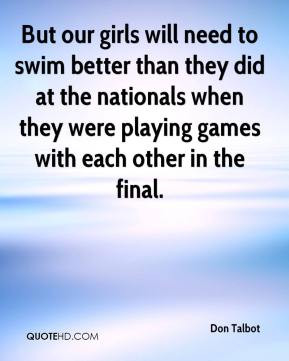 Swimming quotes for girls