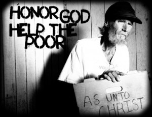 helping the poor 101 blog