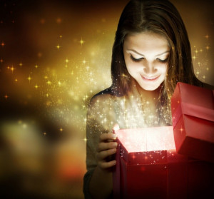 Christmas gift - opening