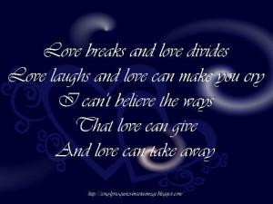 love #quotes #break #broken #true