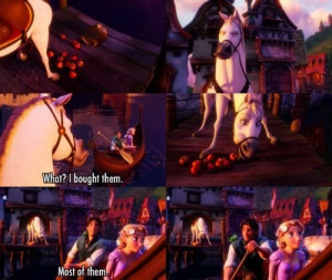 Tangled- one of the best quotes :)
