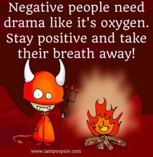 Unhappy People Quotes Negative people quote via www.