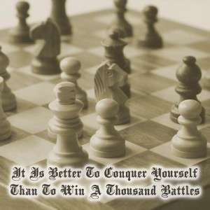... CHESS DESIGNS > Chess Motivations > CHESS VINTAGE > Chess Quote