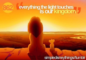 Lion King- movie quote