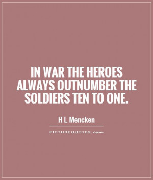 Quotes About Hero Soldiers