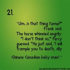 Percy Jackson funny things