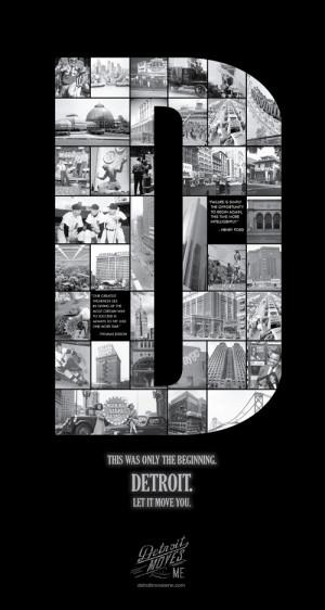 Detroit Posters Concepst