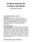 ... quotes, and writing logs, A Week in the Woods money - a reward