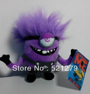 Purple Minion Credited Quoteko