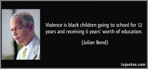 Violence is black children going to school for 12 years and receiving ...
