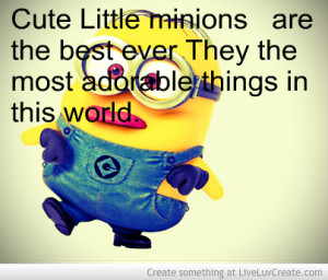 Love Little Minions