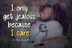 Love Quotes Get Jealous...