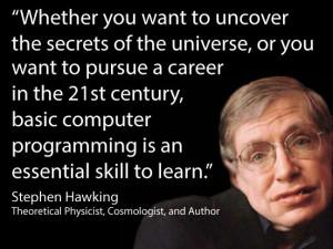 Stephen Hawking about computer programmingThis Man, Stephen Hawks ...