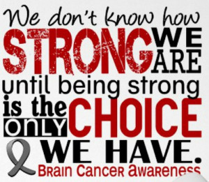 That pretty much says it all. My Mom is one of the strongest women I ...