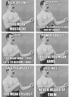 Overly manly man! this man, power tools, stuff, man man, funni, humor ...