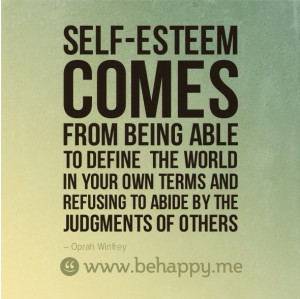 self esteem quotes