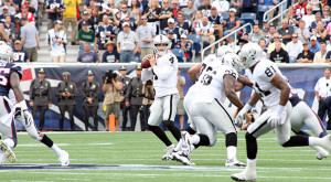 Postgame quotes from the Raiders 16-9 loss to the Patriots in Week 3 ...