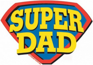 My Super Dad's day!!!- Thankful Post