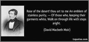 More David Macbeth Moir Quotes