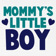 MOMMY's LITTLE bOY Polo Shirts