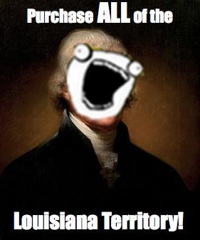 Thomas Jefferson Louisiana Purchase