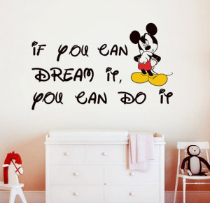 Mickey Mouse wall decal 22.8'' x 36.8